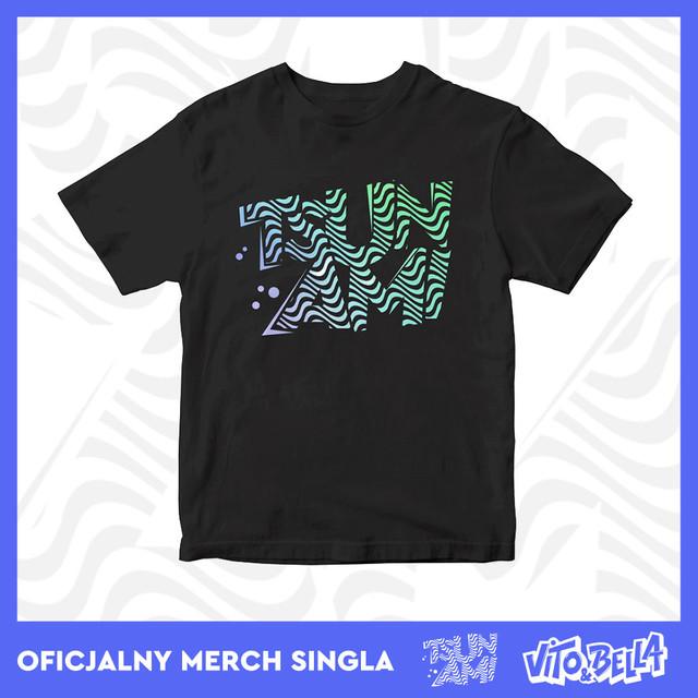 Tsunami Merch - T-Shirt czarny - idealny prezent na wielkanoc / zajączka.