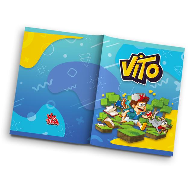 #zostańwdomu Vito - zeszyt niebieski