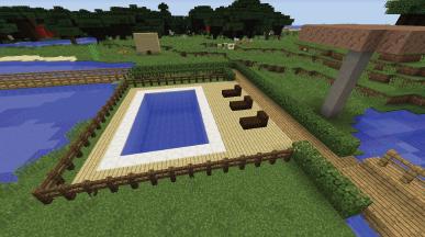 Basen przy domu Vito i Bella Minecraft