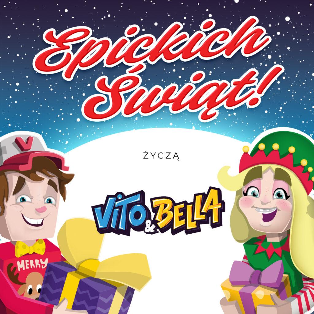 Epickich Świąt od Vito i Belli